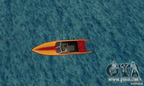 GTAIV Jetmax pour GTA San Andreas vue de droite