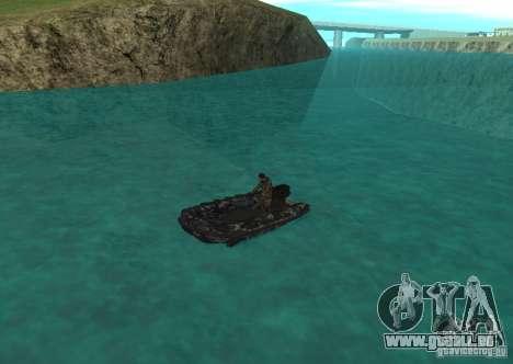 Zodiac-Schlauchboot für GTA San Andreas