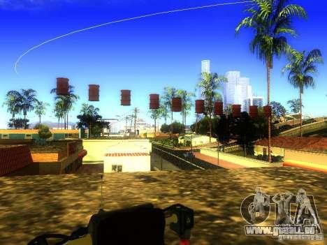 Bombe pour GTA San Andreas quatrième écran