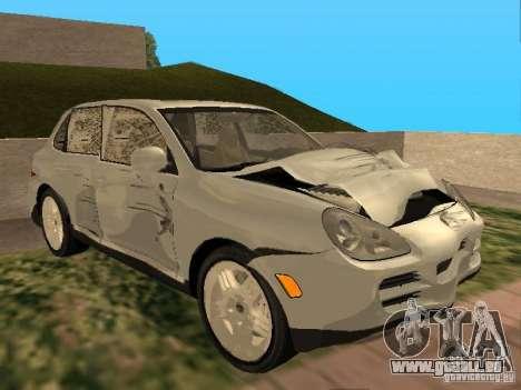 Porsche Cayenne pour GTA San Andreas vue intérieure