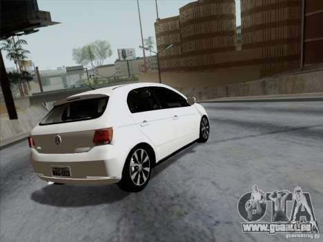 Volkswagen Golf G6 v3 pour GTA San Andreas laissé vue