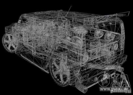 AMG Hummer H2 Hard Tuning v2 für GTA Vice City linke Ansicht