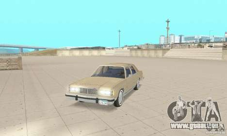 Mercury Grand Marquis LS 1986 pour GTA San Andreas