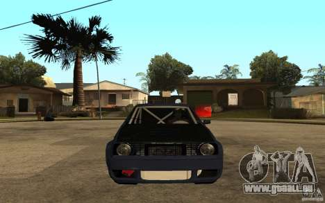 Volkswagen Golf GTI 2 Tuning pour GTA San Andreas vue de droite