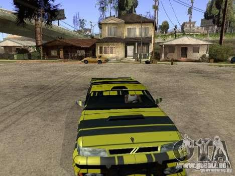Vinyle pour Sultan pour GTA San Andreas vue arrière