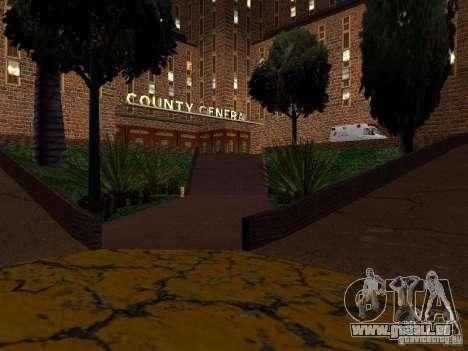 Neue Texturen-Krankenhaus in Los Santos für GTA San Andreas fünften Screenshot