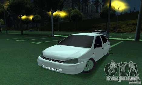 Lada Kalina Hatchback pour GTA San Andreas