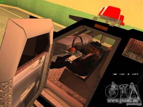 Swat III Securica pour GTA San Andreas vue de droite