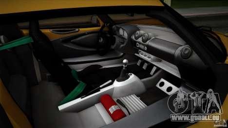 Lotus Exige Track Car pour GTA San Andreas roue