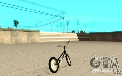 Trail Bike pour GTA San Andreas sur la vue arrière gauche