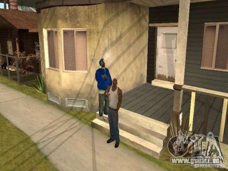 Sie können sitzen, Rauchen, trinken Whiskey, Erb für GTA San Andreas zweiten Screenshot