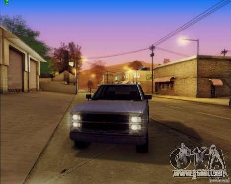 SA_Mod v1.0 pour GTA San Andreas cinquième écran