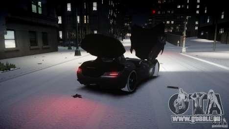 Mercedes Benz McLaren SLR Stirling Moss für GTA 4 Innenansicht