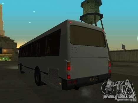 LAZ 52528 pour GTA San Andreas vue intérieure
