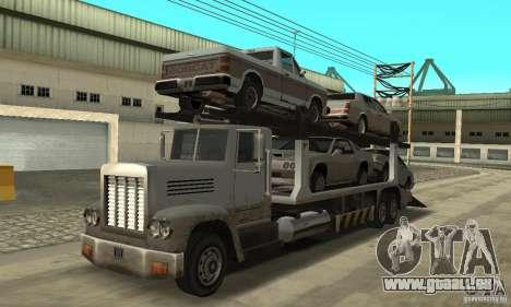 Avtoparkovŝik pour GTA San Andreas