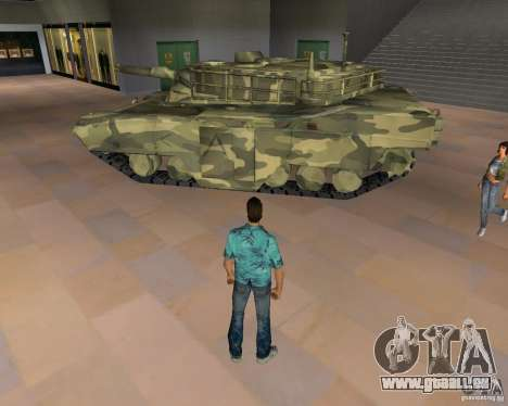 Camo-tank für GTA Vice City zweiten Screenshot