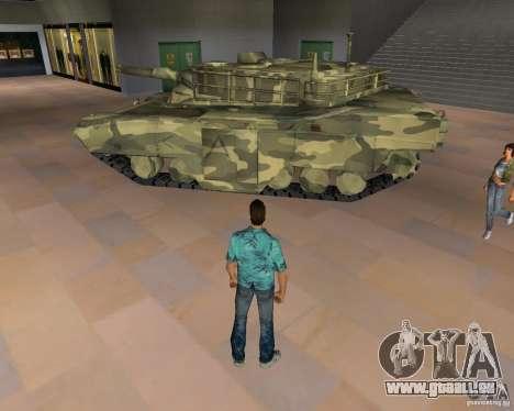 Réservoir de Camo pour GTA San Andreas laissé vue