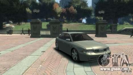 Audi S4 pour GTA 4 Vue arrière de la gauche