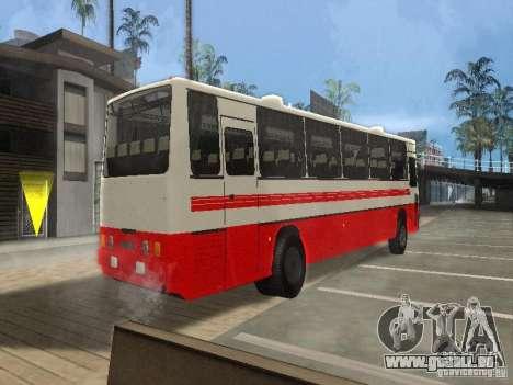 IKARUS 250 pour GTA San Andreas laissé vue