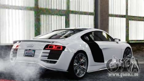 Audi R8 LeMans für GTA 4 rechte Ansicht