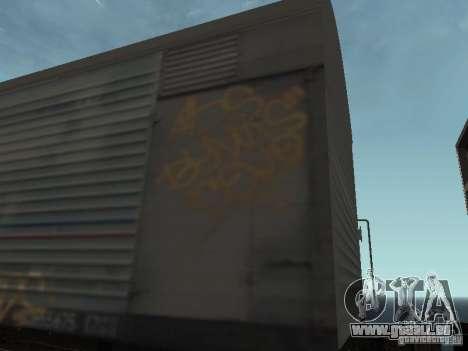 Refrežiratornyj wagon peint de Dessau no 8 pour GTA San Andreas vue arrière