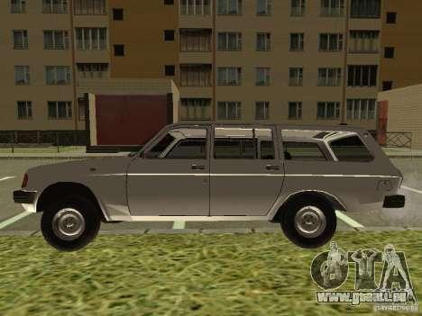 GAZ Volga 31022 pour GTA San Andreas vue de droite