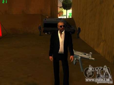 New FBI pour GTA San Andreas deuxième écran