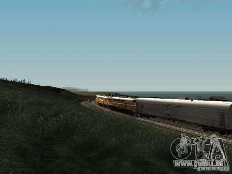2TE10U-0137 pour GTA San Andreas vue intérieure