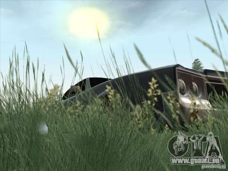 Sabre HD für GTA San Andreas Rückansicht