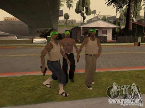 Vagosy-Grove pour GTA San Andreas