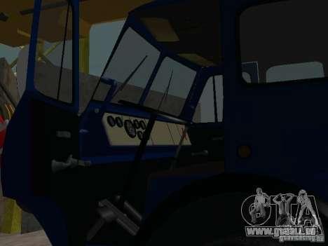 MAZ-KS3577-4-1-Ivanovets für GTA San Andreas Rückansicht