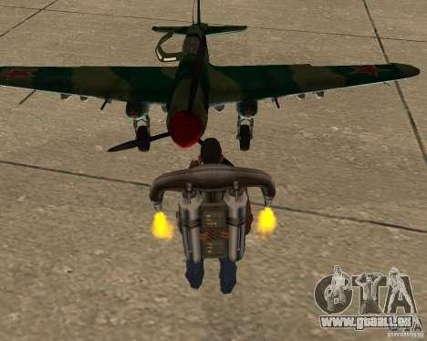 Il-2 m pour GTA San Andreas vue arrière