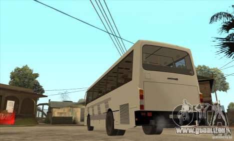 LAZ 42078 (liner-10) pour GTA San Andreas sur la vue arrière gauche
