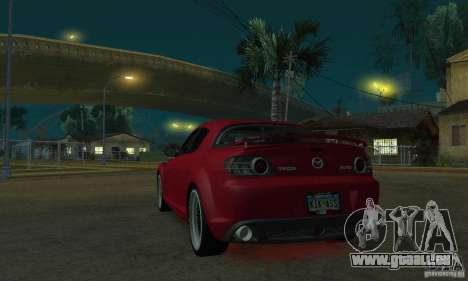 Roter Neon lights für GTA San Andreas zweiten Screenshot