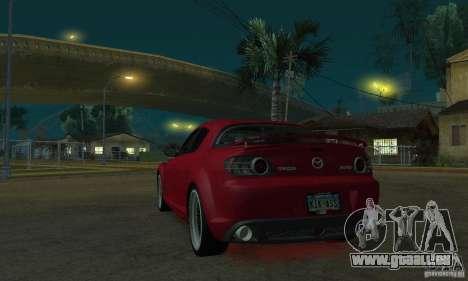 Néons rouges pour GTA San Andreas deuxième écran