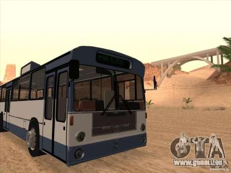 MAN SL200 Exclusive v.1.00 für GTA San Andreas Rückansicht