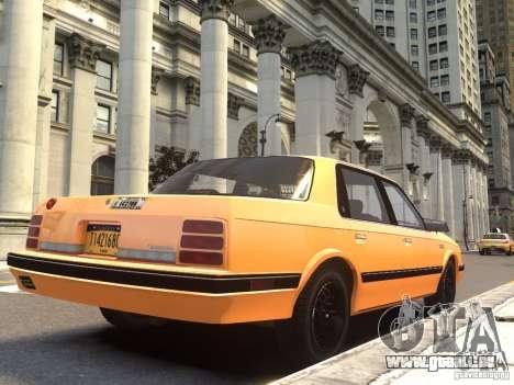 Oldsmobile Cutlass Ciera 1993 pour GTA 4 est une gauche