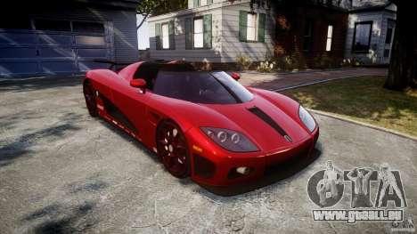 Koenigsegg CCXR Edition pour GTA 4