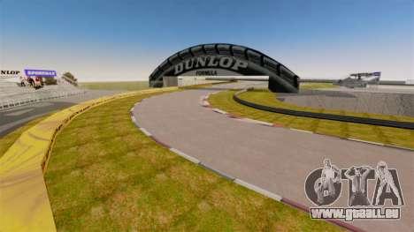 Tsukuba Circuit v3.0 pour GTA 4 cinquième écran