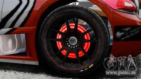 Volkswagen Scirocco BTCS MkIII 2010 pour GTA 4 Vue arrière