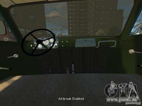 Gaz 52 HotRod pour GTA 4 Vue arrière