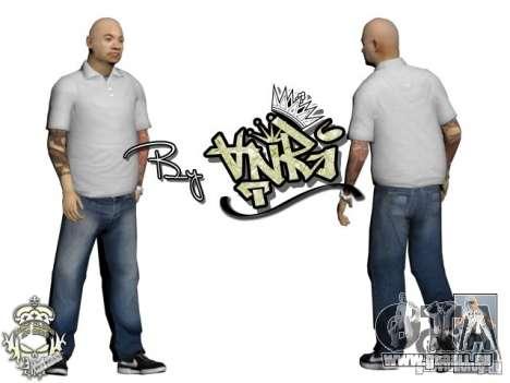 Skins Pack Yakuza pour GTA San Andreas deuxième écran