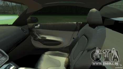 Audi R8 Spyder v10 [EPM] pour GTA 4 est une vue de l'intérieur