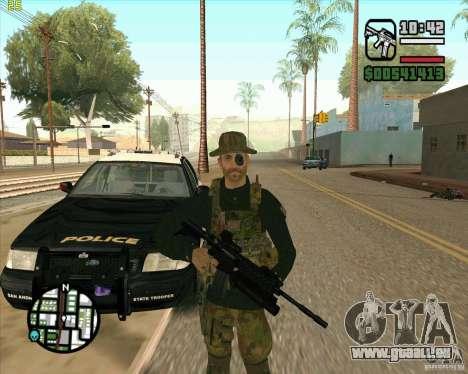 Haut Praice von COD 4 für GTA San Andreas zweiten Screenshot