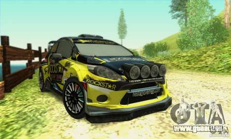 Ford Fiesta Rockstar Energy pour GTA San Andreas