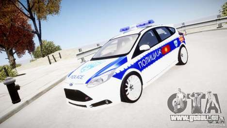Ford Focus Macedonian Police pour GTA 4