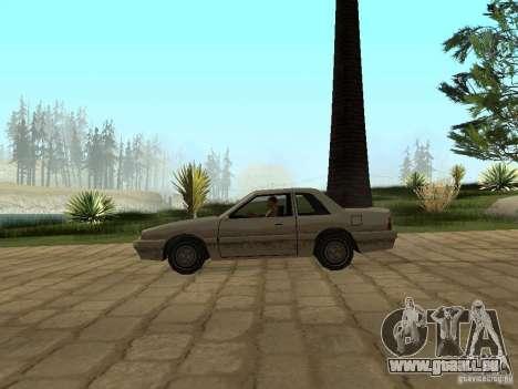 Suspension pneumatique pour GTA San Andreas quatrième écran