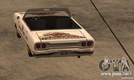 Peinture de savane pour GTA San Andreas troisième écran