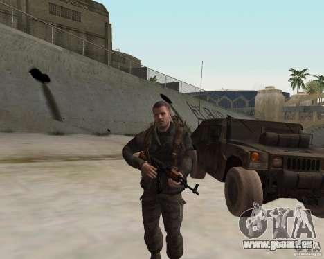 Alex Mason pour GTA San Andreas troisième écran