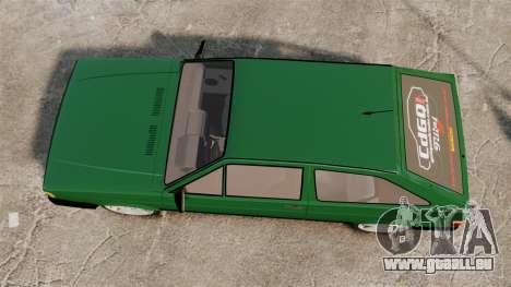 Volkswagen Gol GL 1992 Edit pour GTA 4 est un droit